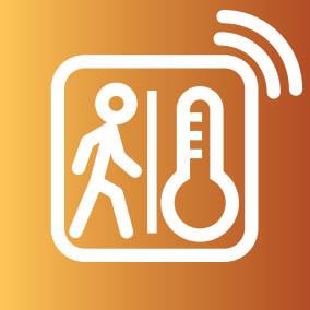 mozgás-és hőmérséklet érzékelő szenzor