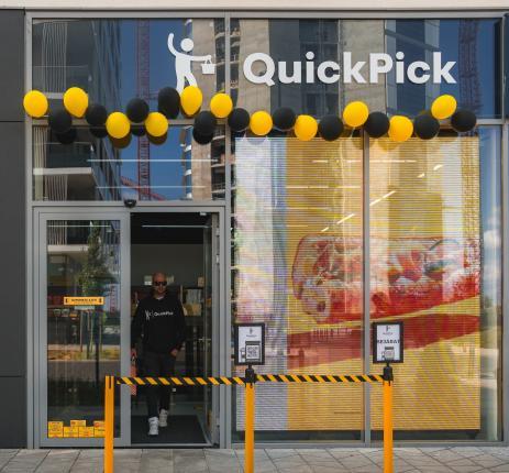 Quick Pick grab & go élelmiszerbolt