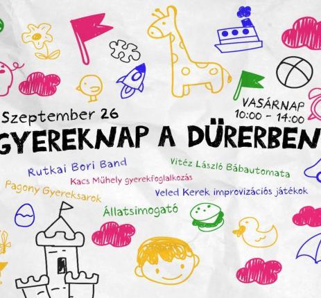 Children's Day at Dürer Kert