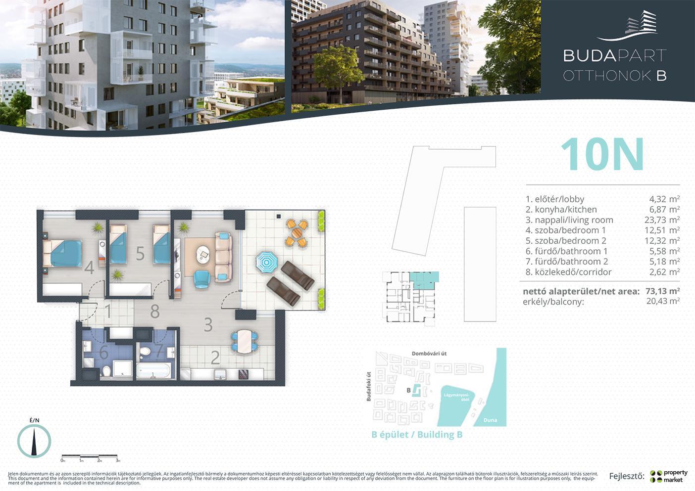 Lakás száma: BRB_C.15.04