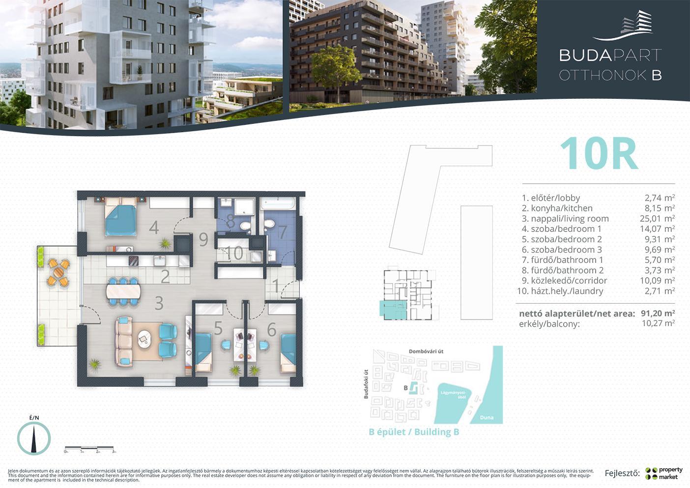 Lakás száma: BRB_C.14.02