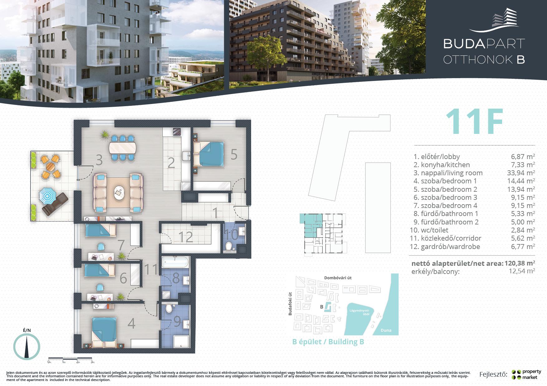 Lakás száma: BRB_C.10.03