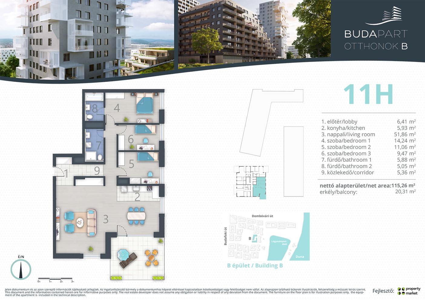 Lakás száma: BRB_C.15.01