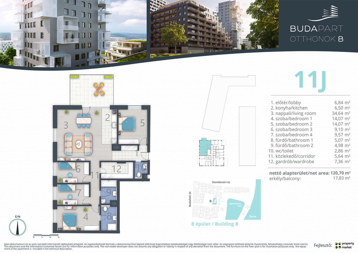 Lakás száma: BRB_C.14.03