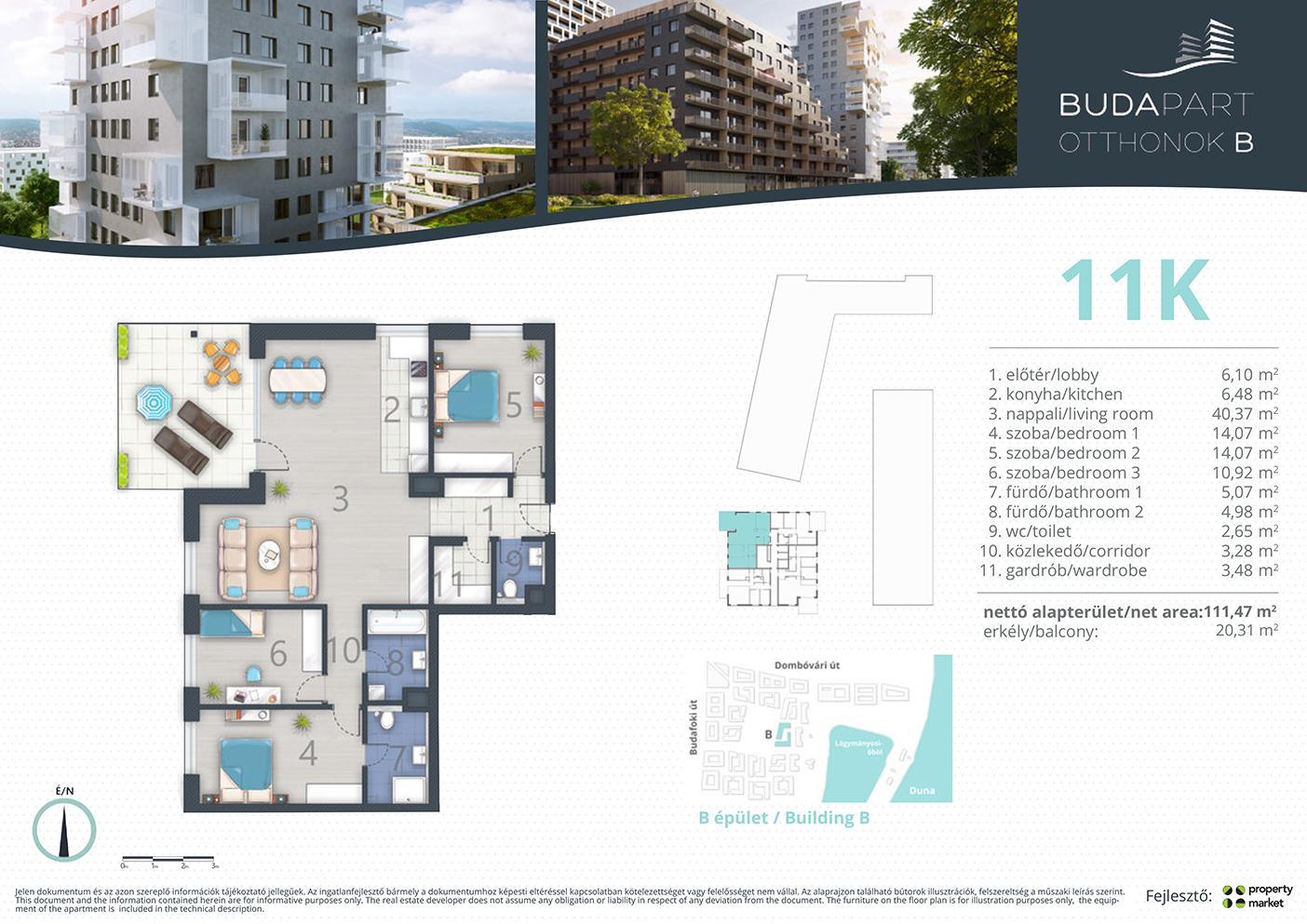 Lakás száma: BRB_C.15.03