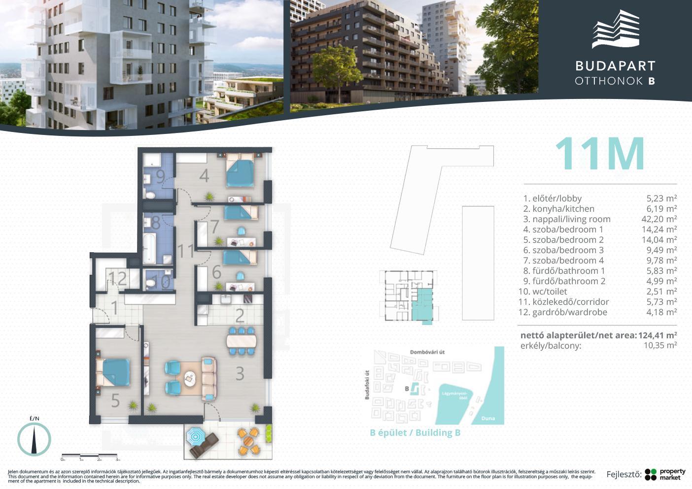 Lakás száma: BRB_C.09.01