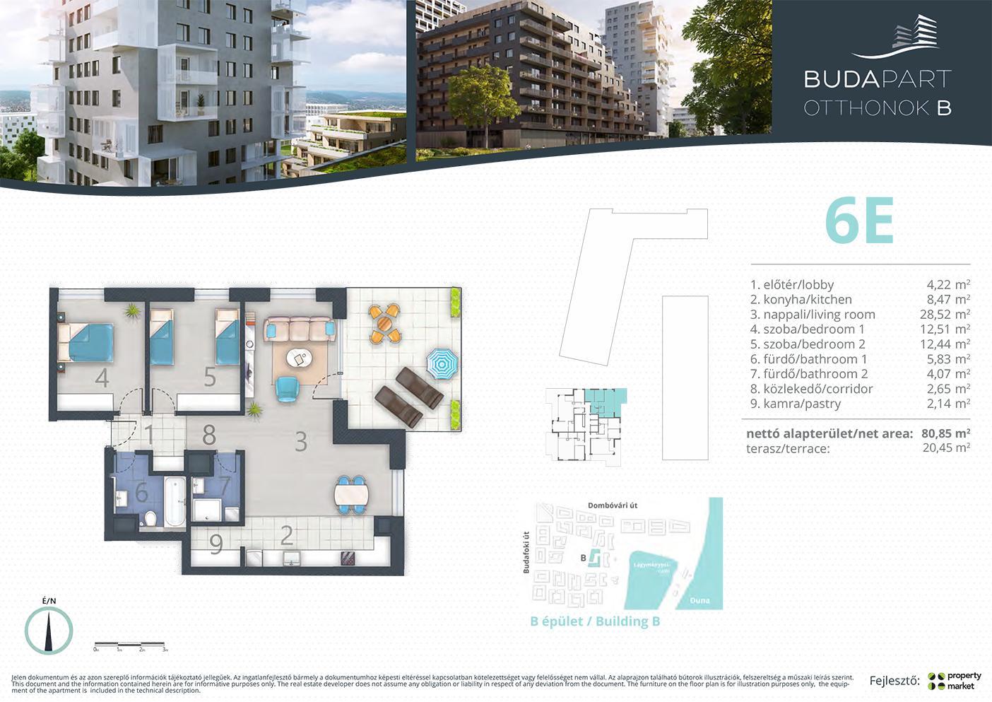 Lakás száma: BRB_C.16.04