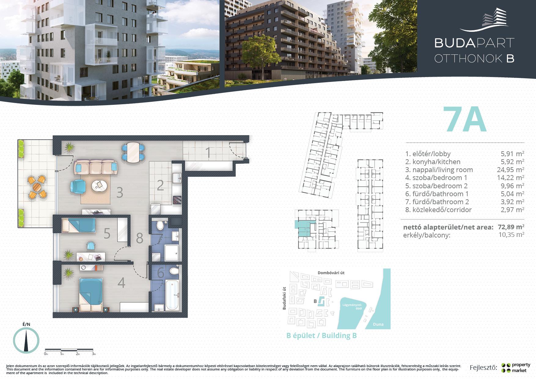 Lakás száma: BRB_C.01.03