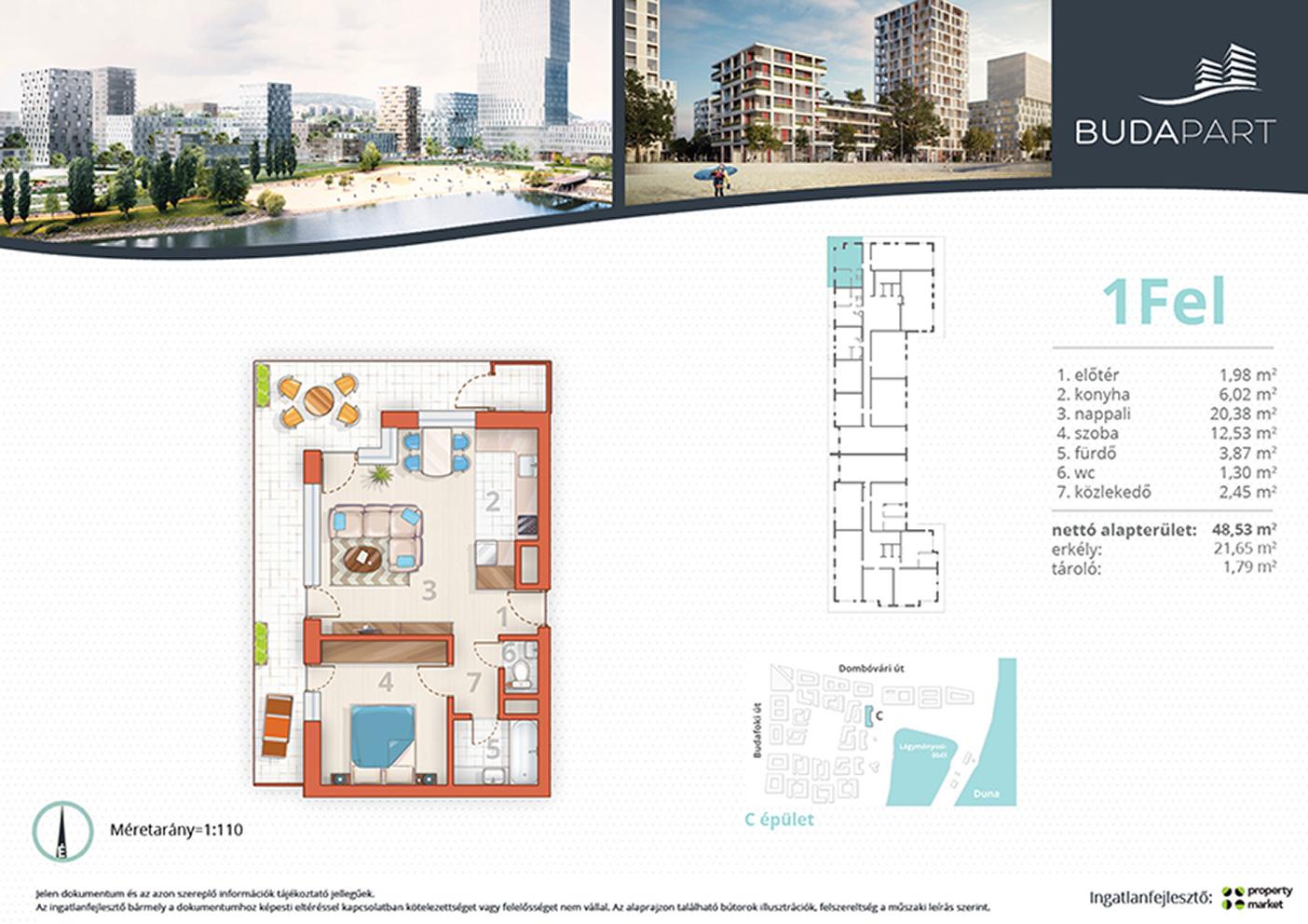 Lakás száma: BRC_A.03.03