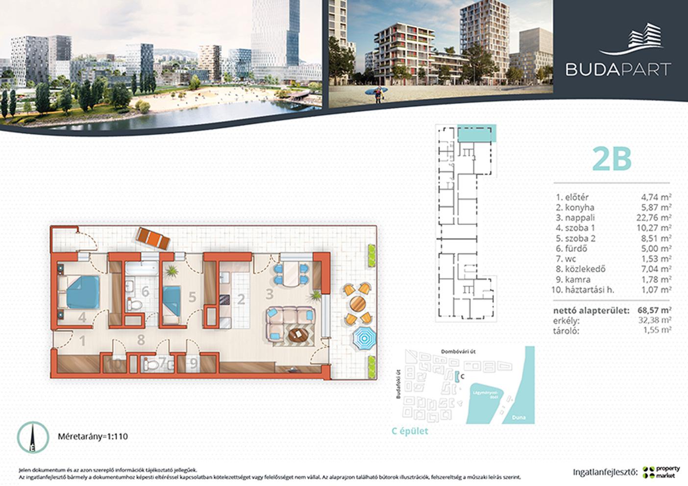 Lakás száma: BRC_A.01.02
