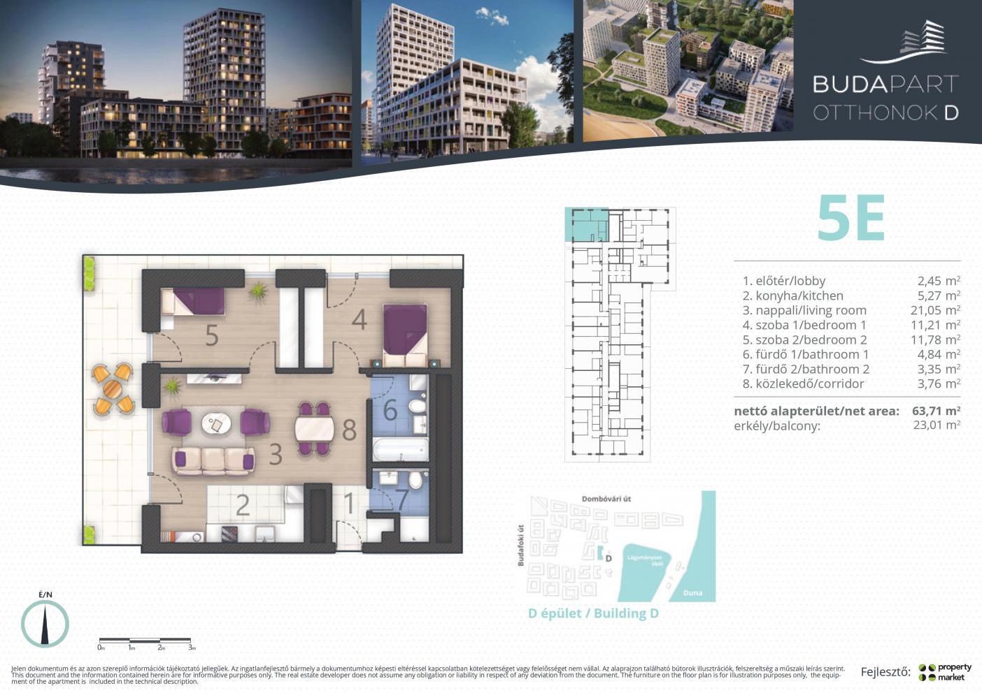 Lakás száma: BRD_A.05.06