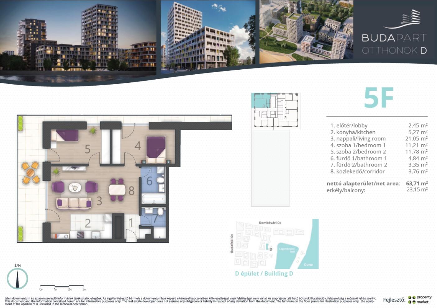 Lakás száma: BRD_A.14.03