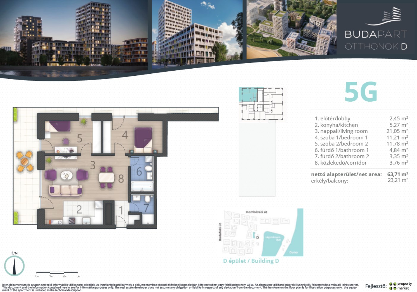 Lakás száma: BRD_A.13.03