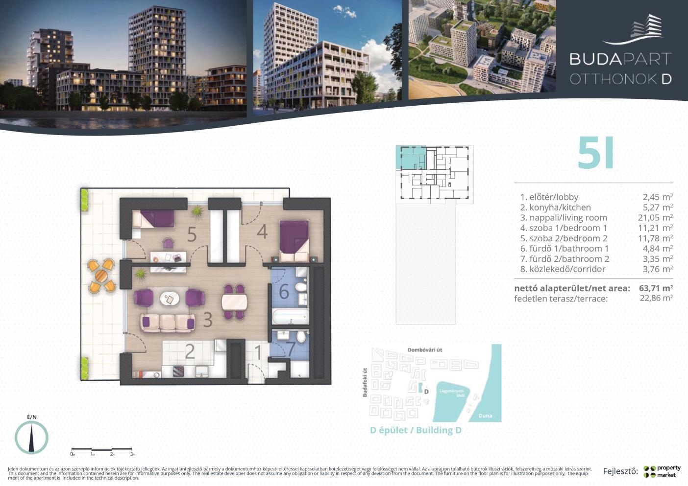 Lakás száma: BRD_A.11.03
