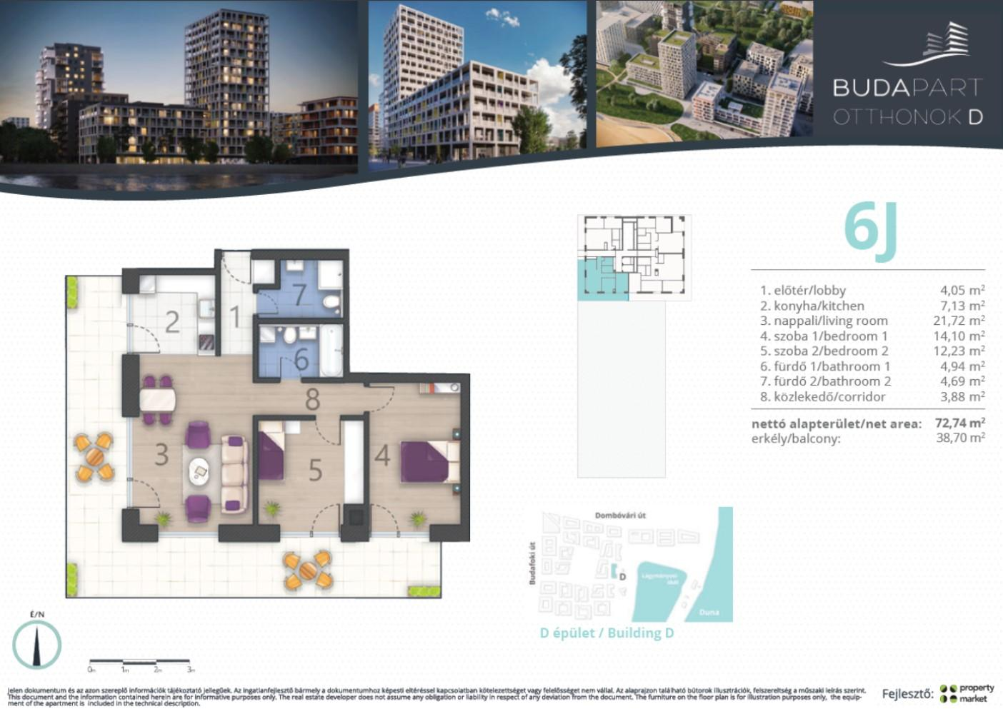 Lakás száma: BRD_A.15.02