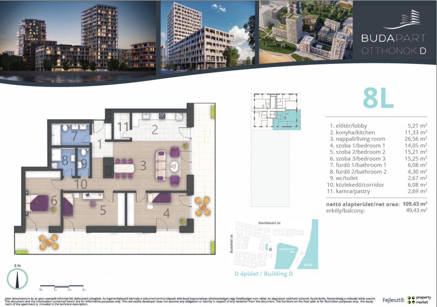 Lakás száma: BRD_A.15.01