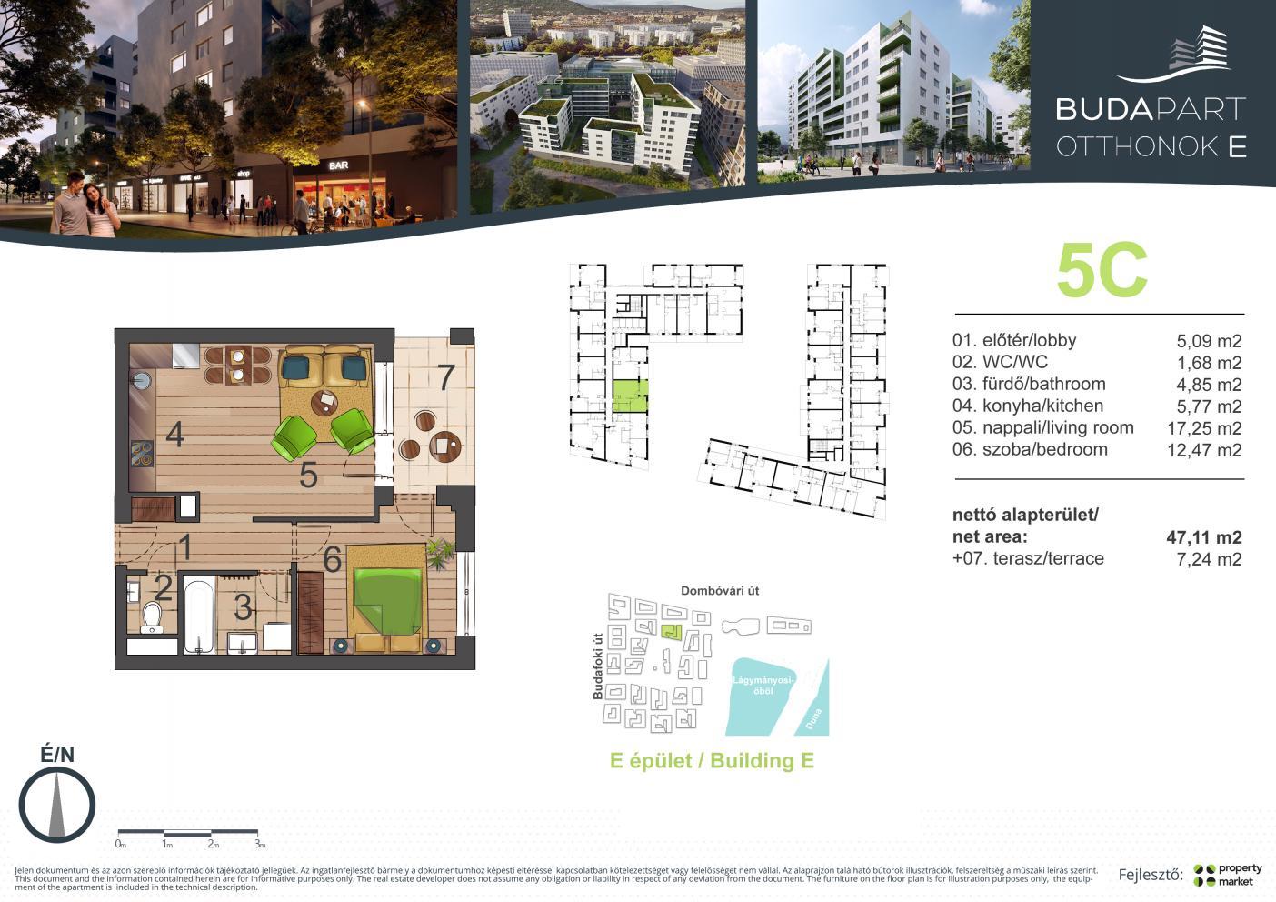 Lakás száma: BRE_A.01.07