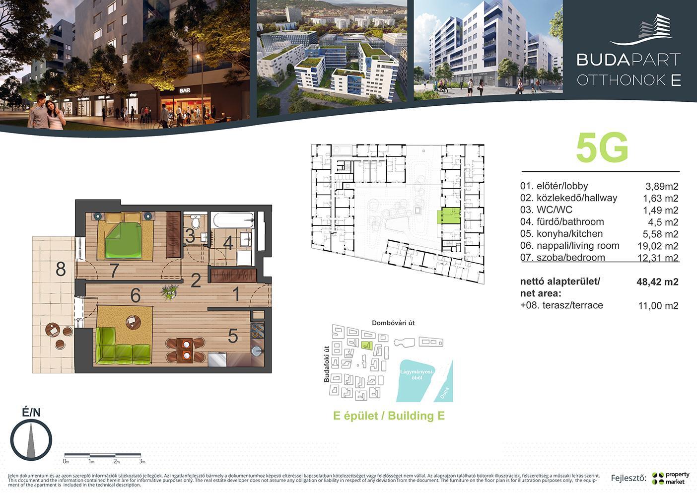 Lakás száma: BRE_B.02.02
