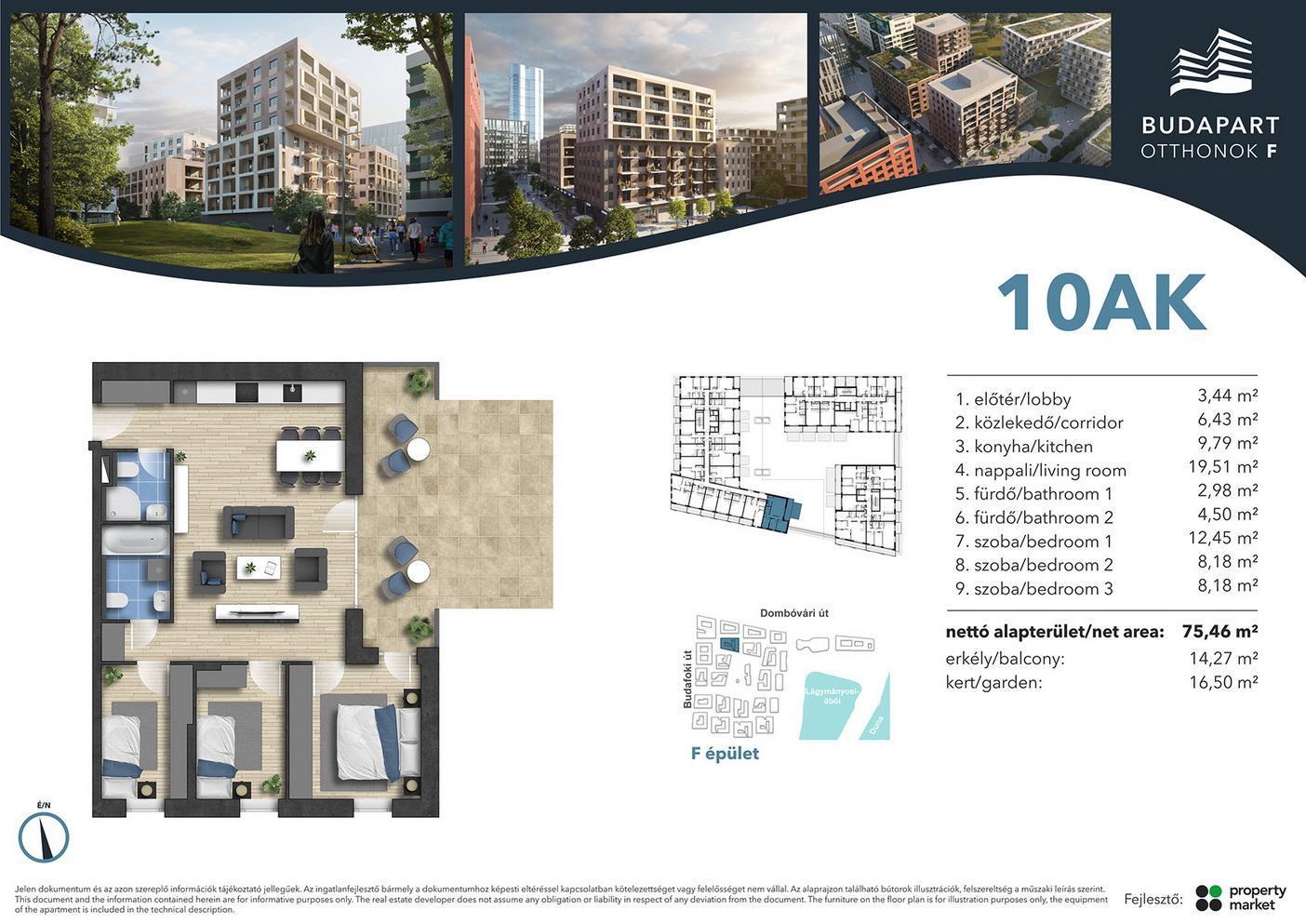 Lakás száma: BRF_A.01.01