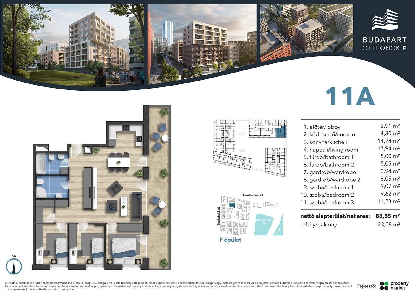 Lakás száma: BRF_B.01.01