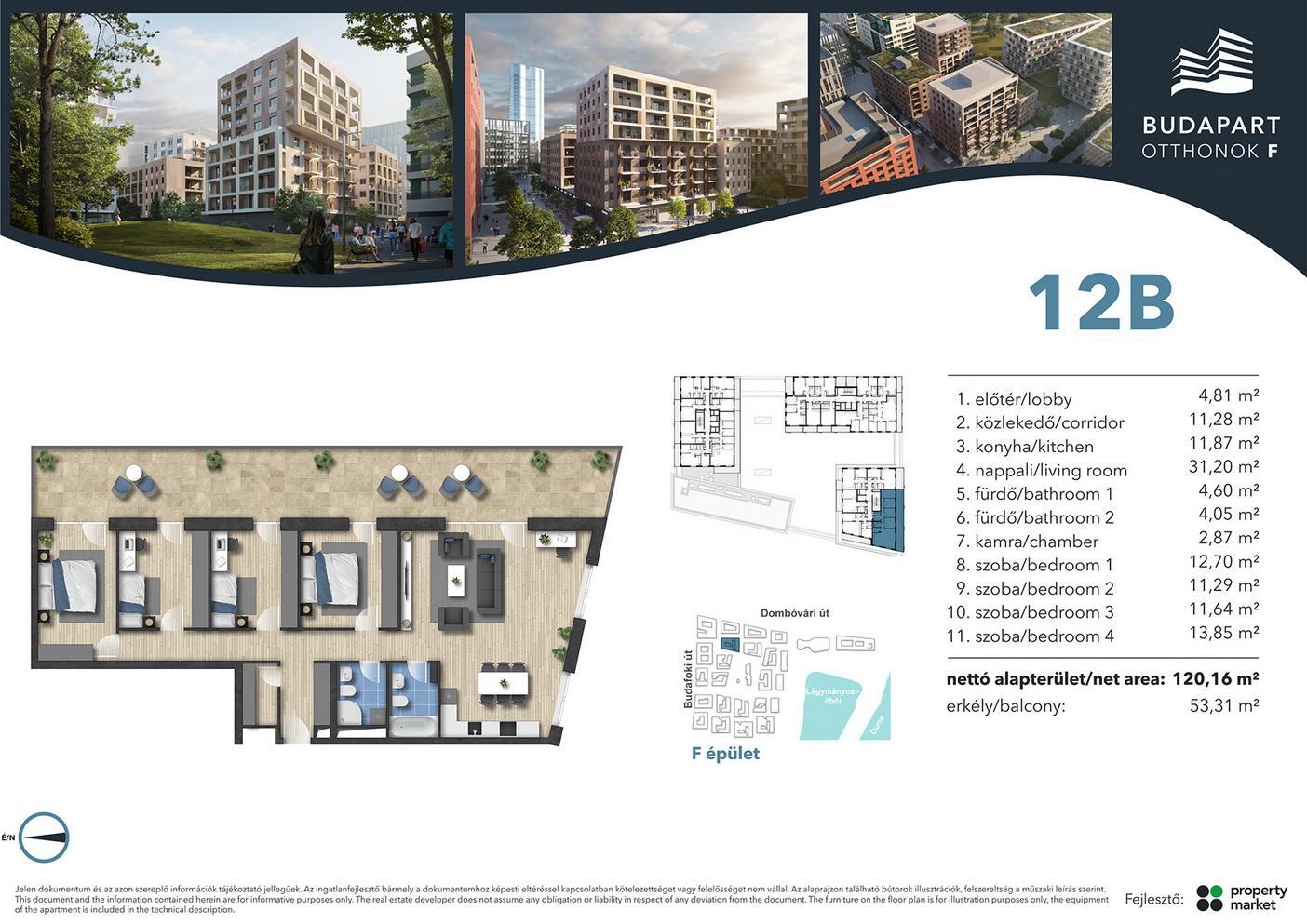 Lakás száma: BRF_C.06.01