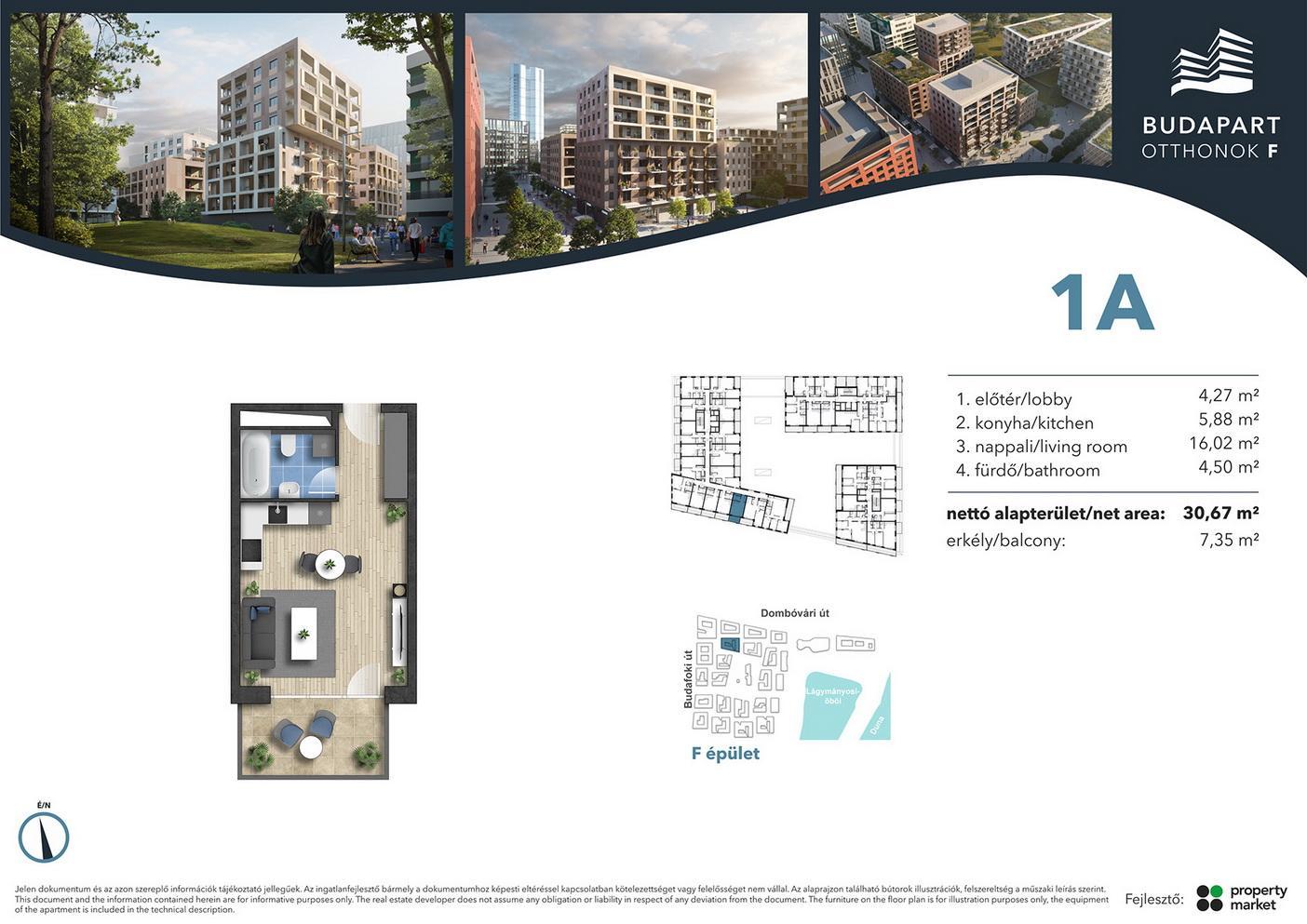 Lakás száma: BRF_A.03.03
