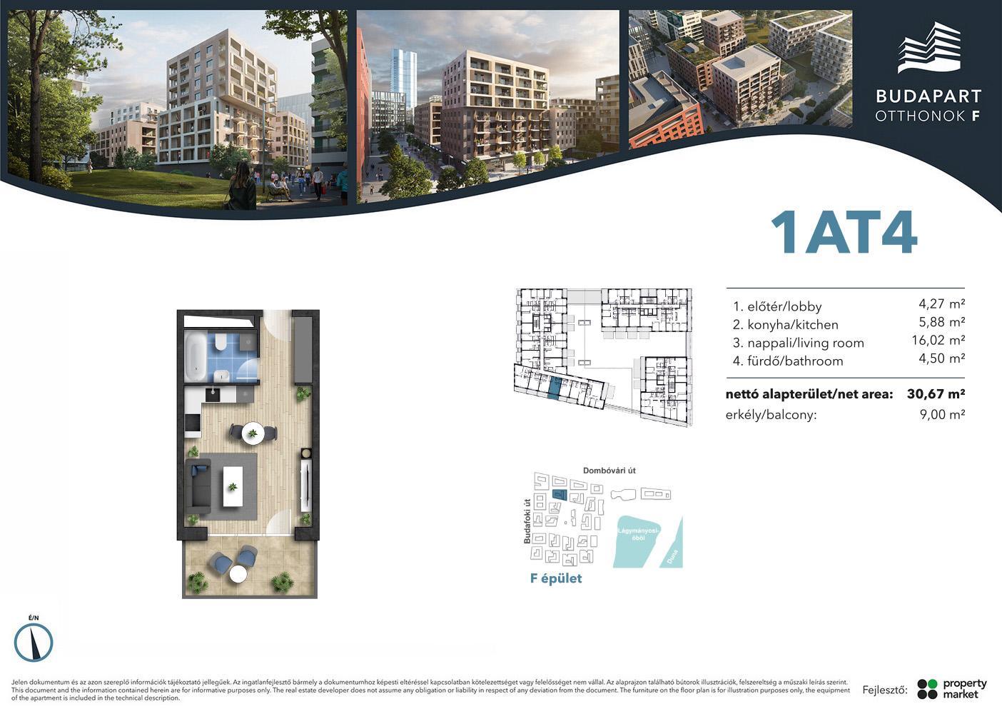 Lakás száma: BRF_A.01.04