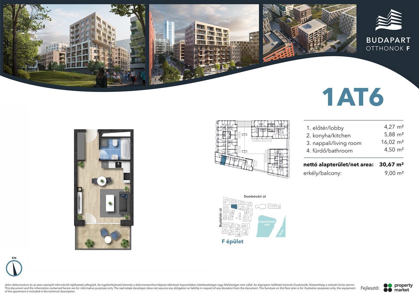Lakás száma: BRF_A.01.06