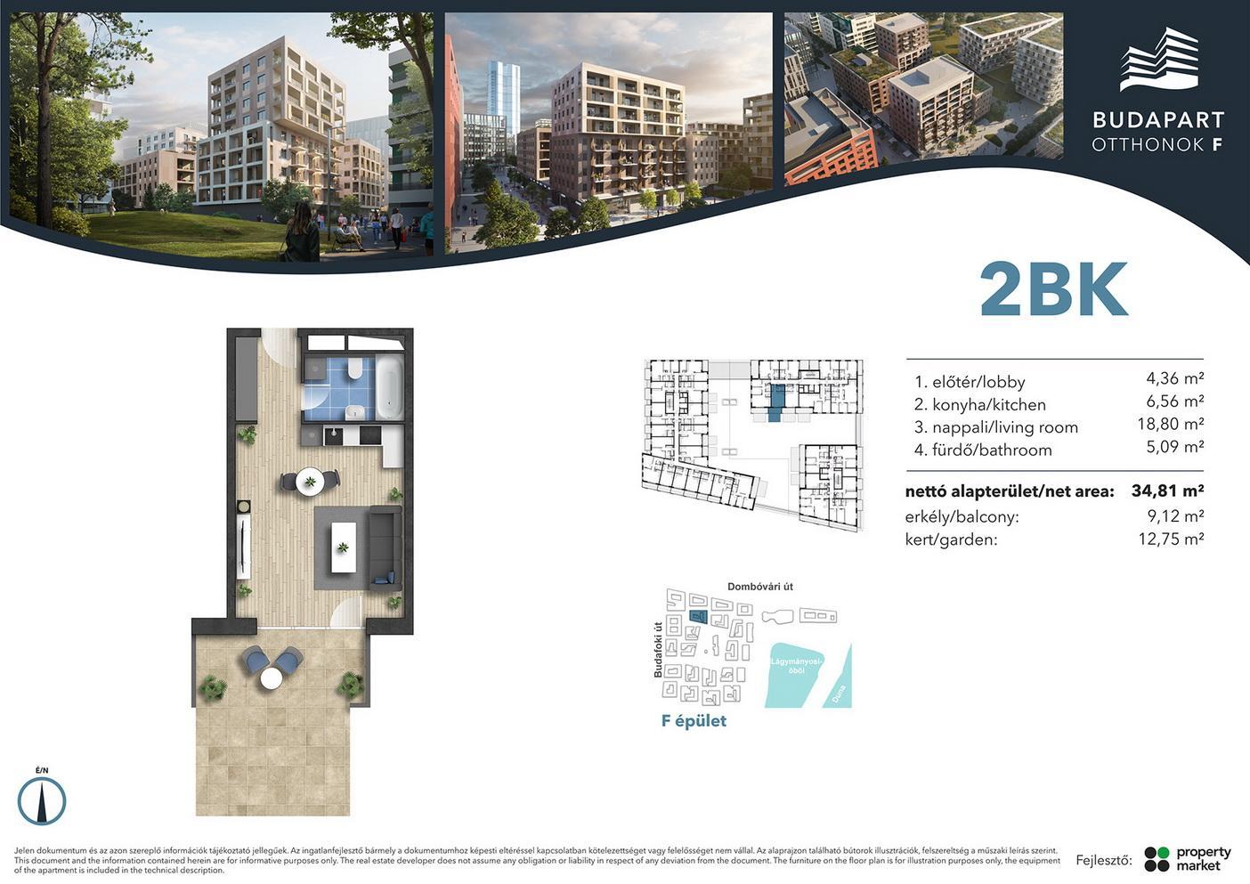 Lakás száma: BRF_B.01.04