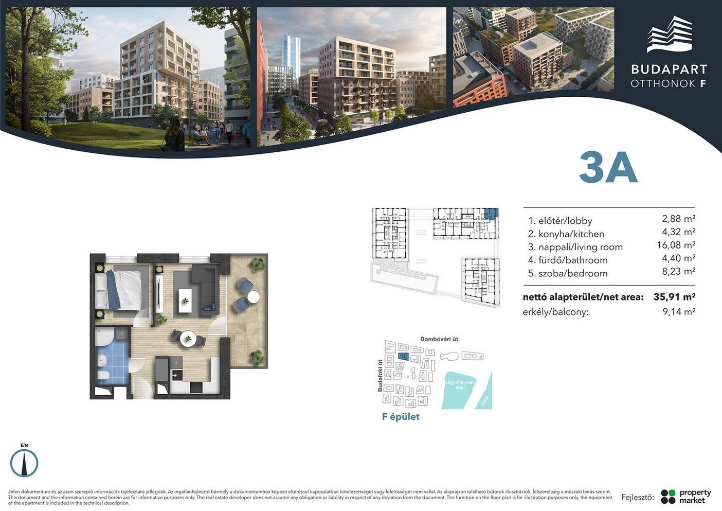 Lakás száma: BRF_B.01.09