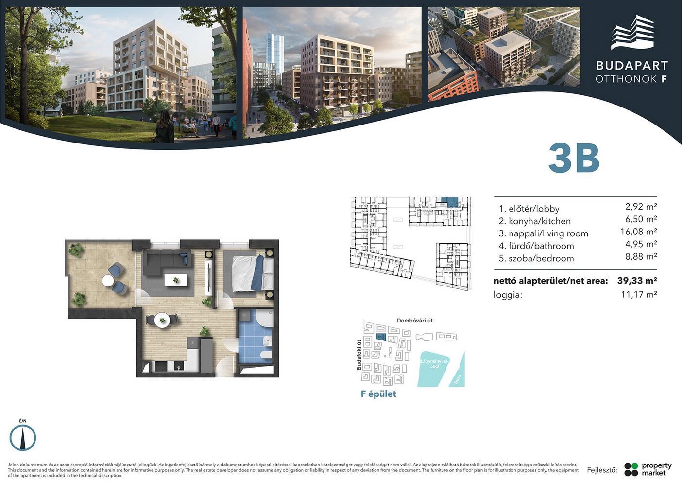 Lakás száma: BRF_B.01.08