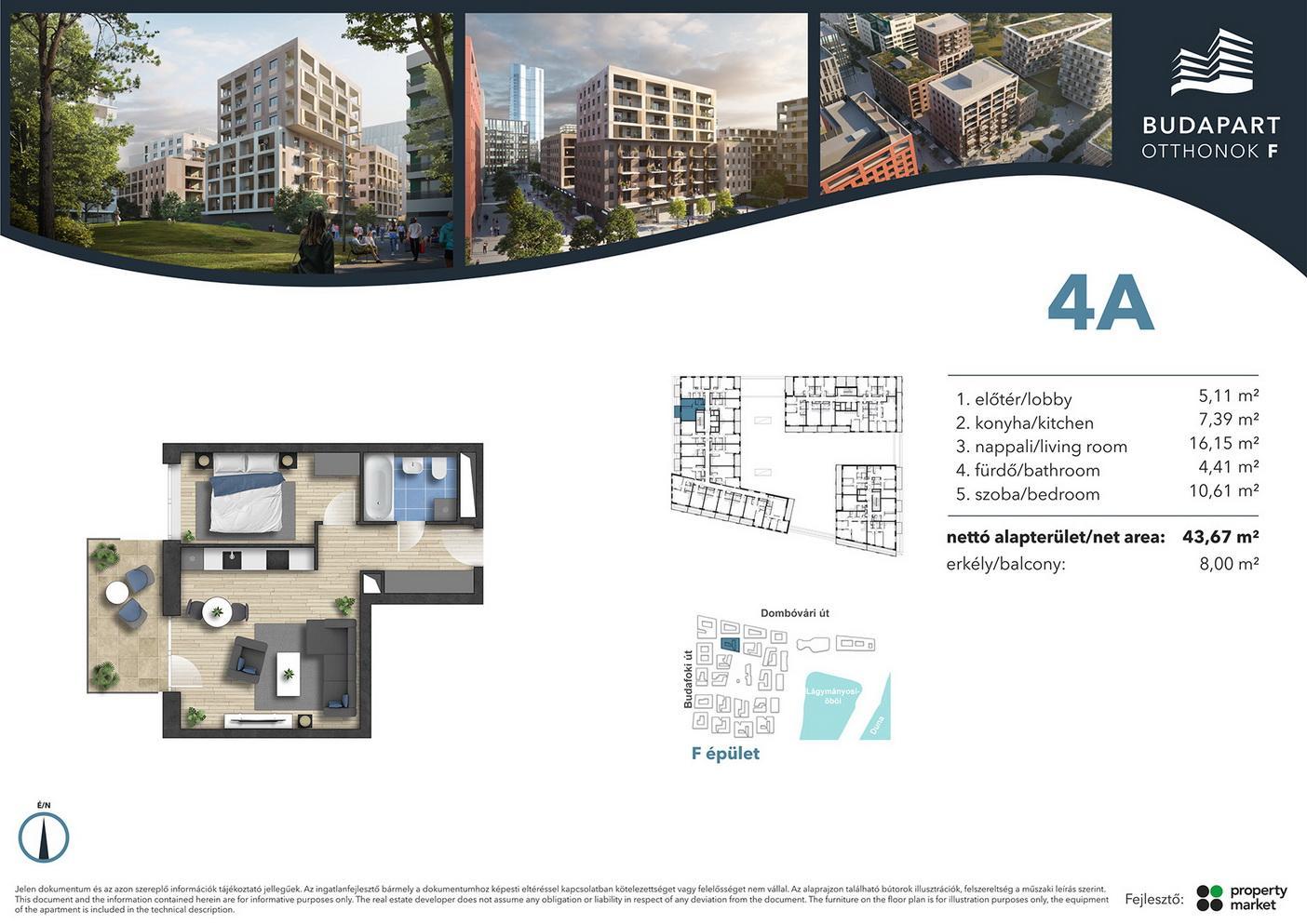 Lakás száma: BRF_A.02.11