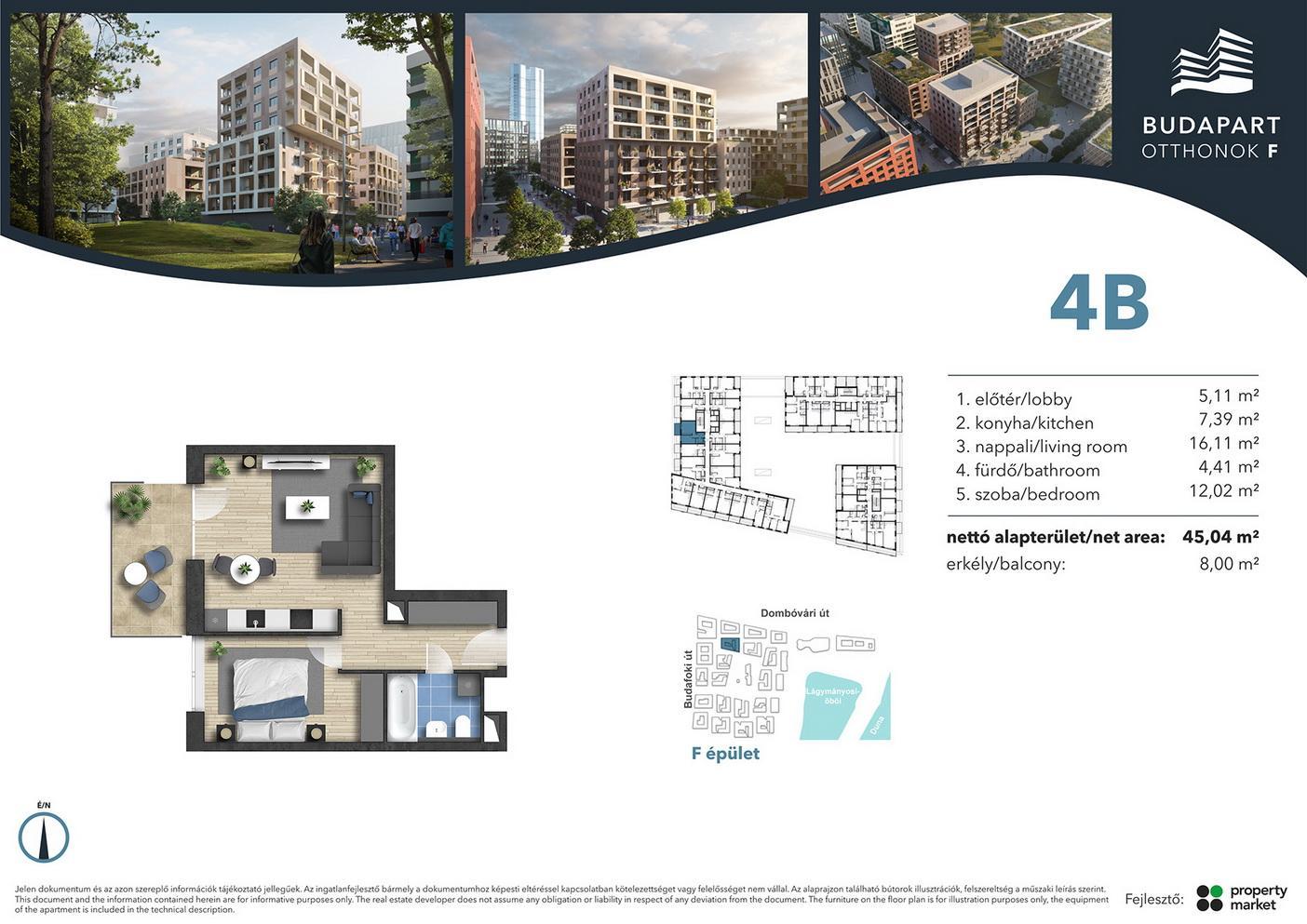 Lakás száma: BRF_A.01.10