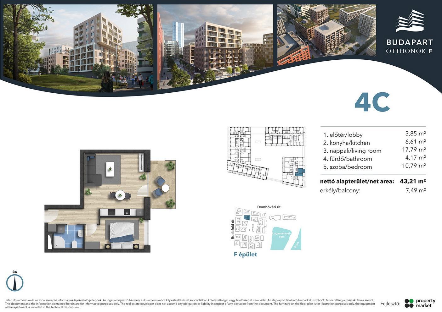 Lakás száma: BRF_C.01.06