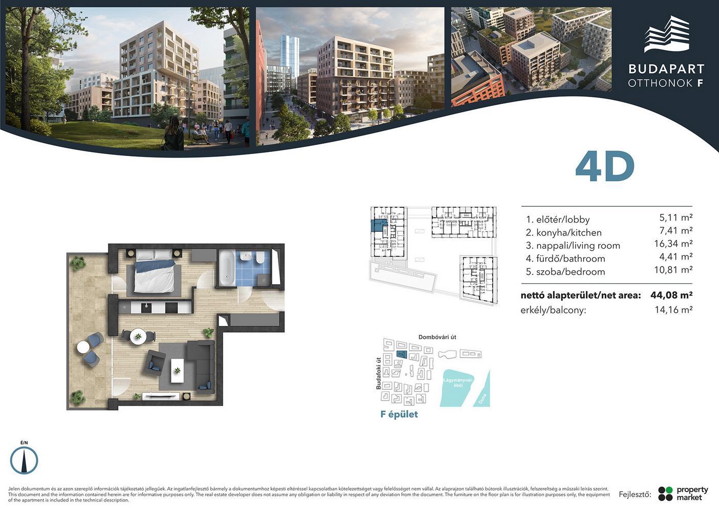 Lakás száma: BRF_A.06.04
