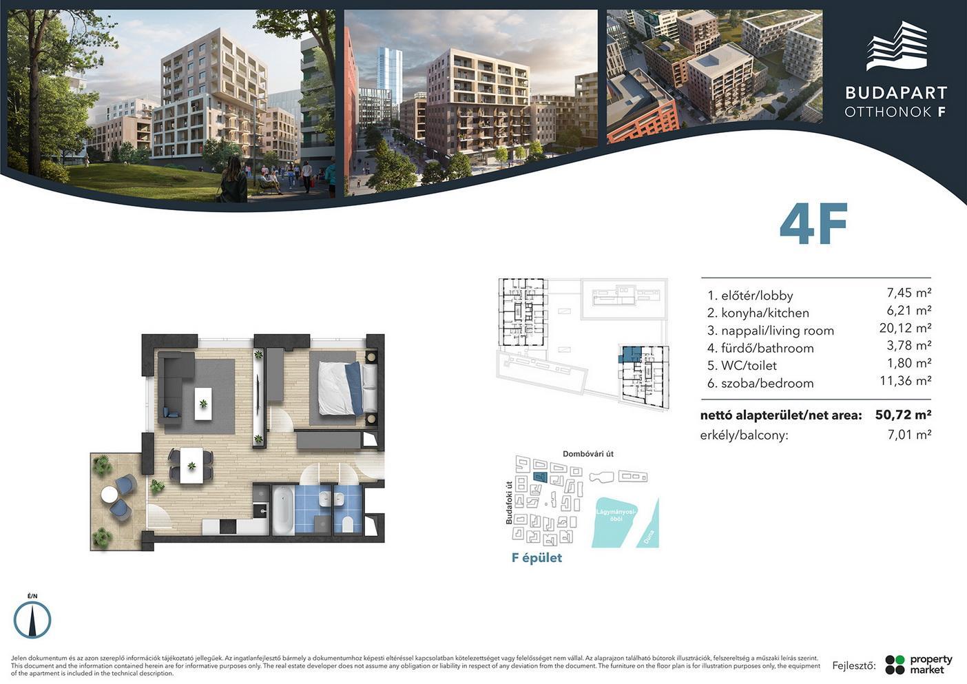 Lakás száma: BRF_C.06.04