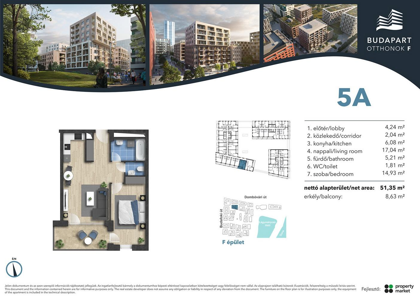 Lakás száma: BRF_A.01.02