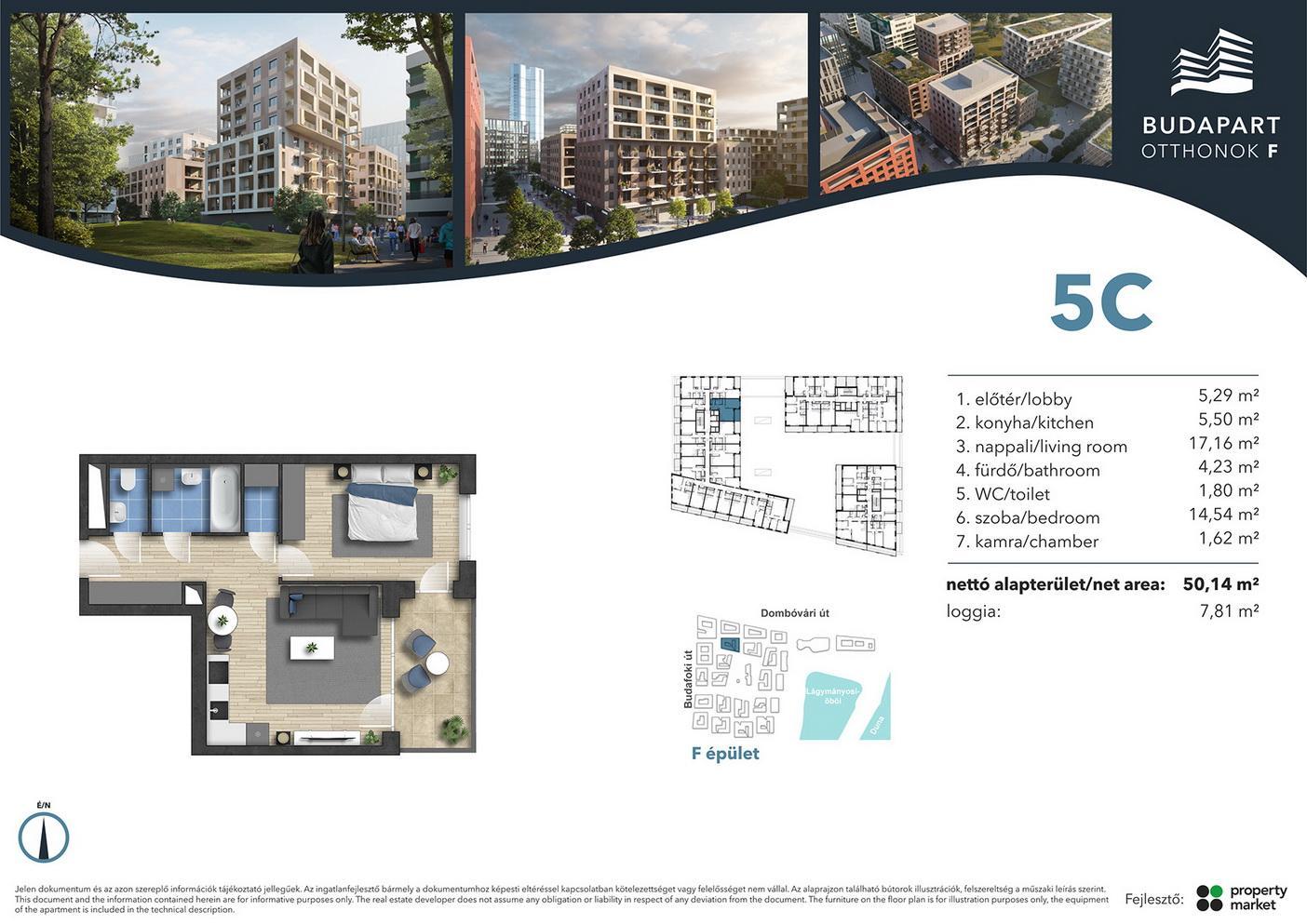 Lakás száma: BRF_A.02.14