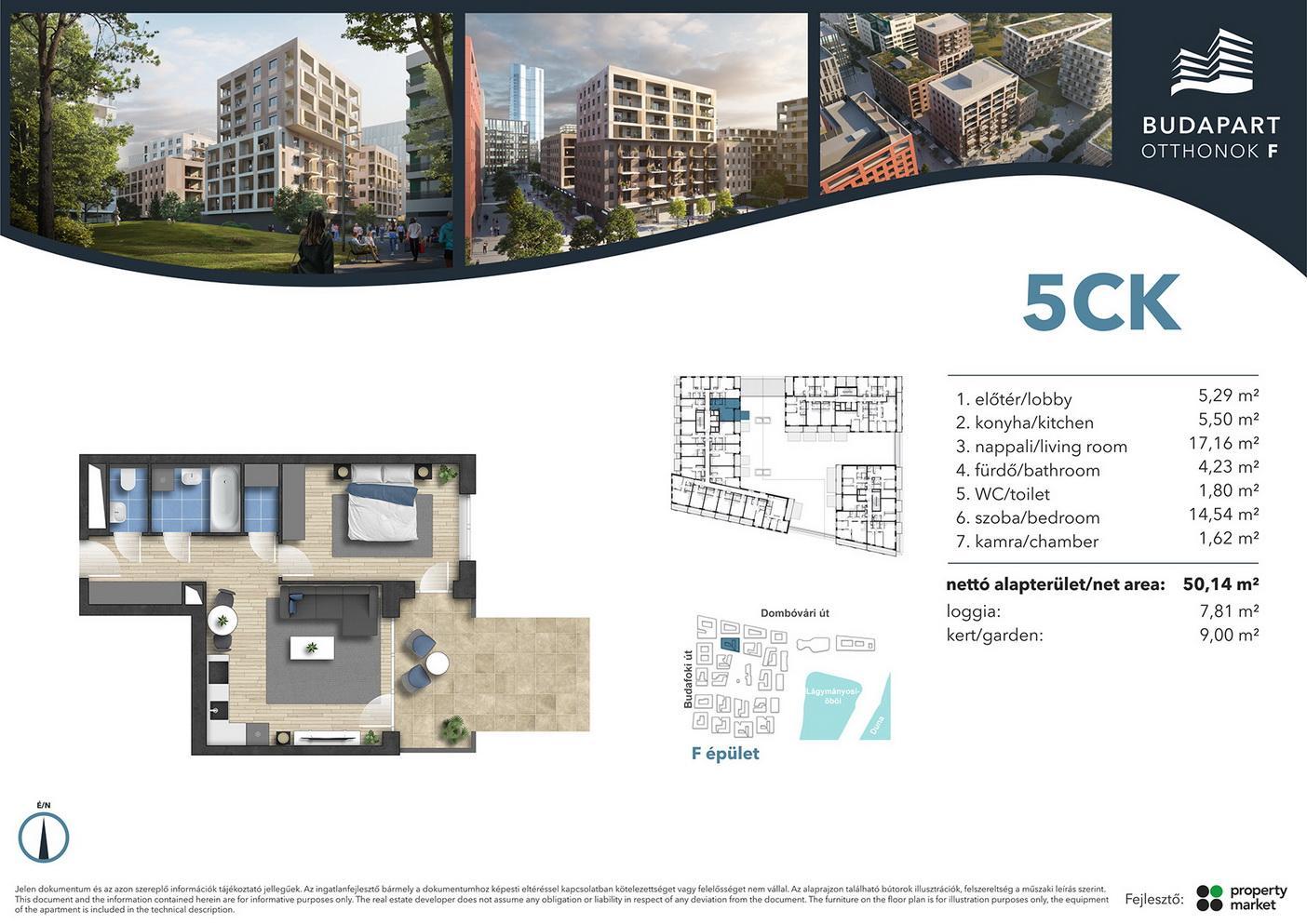 Lakás száma: BRF_A.01.14