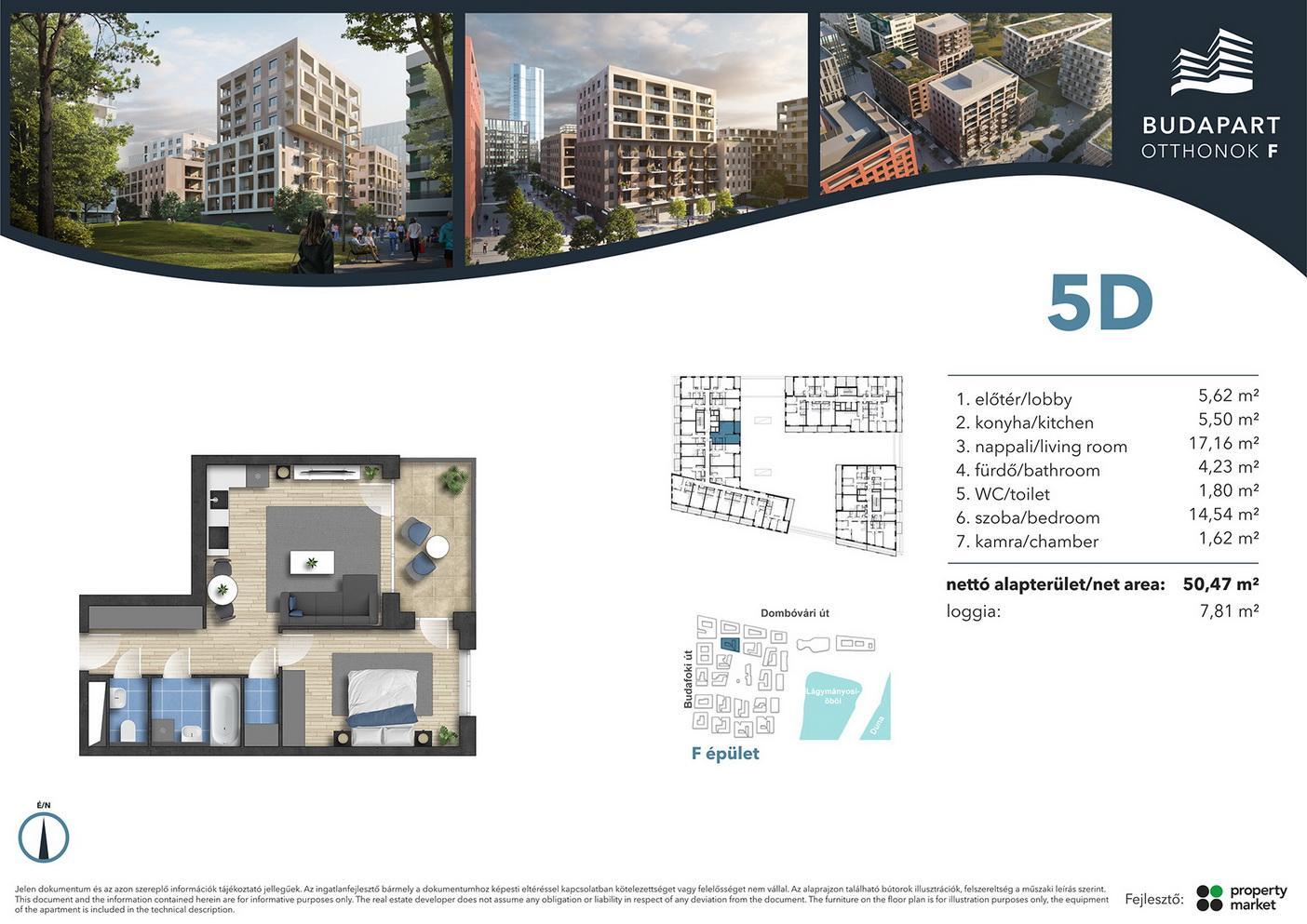 Lakás száma: BRF_A.02.15