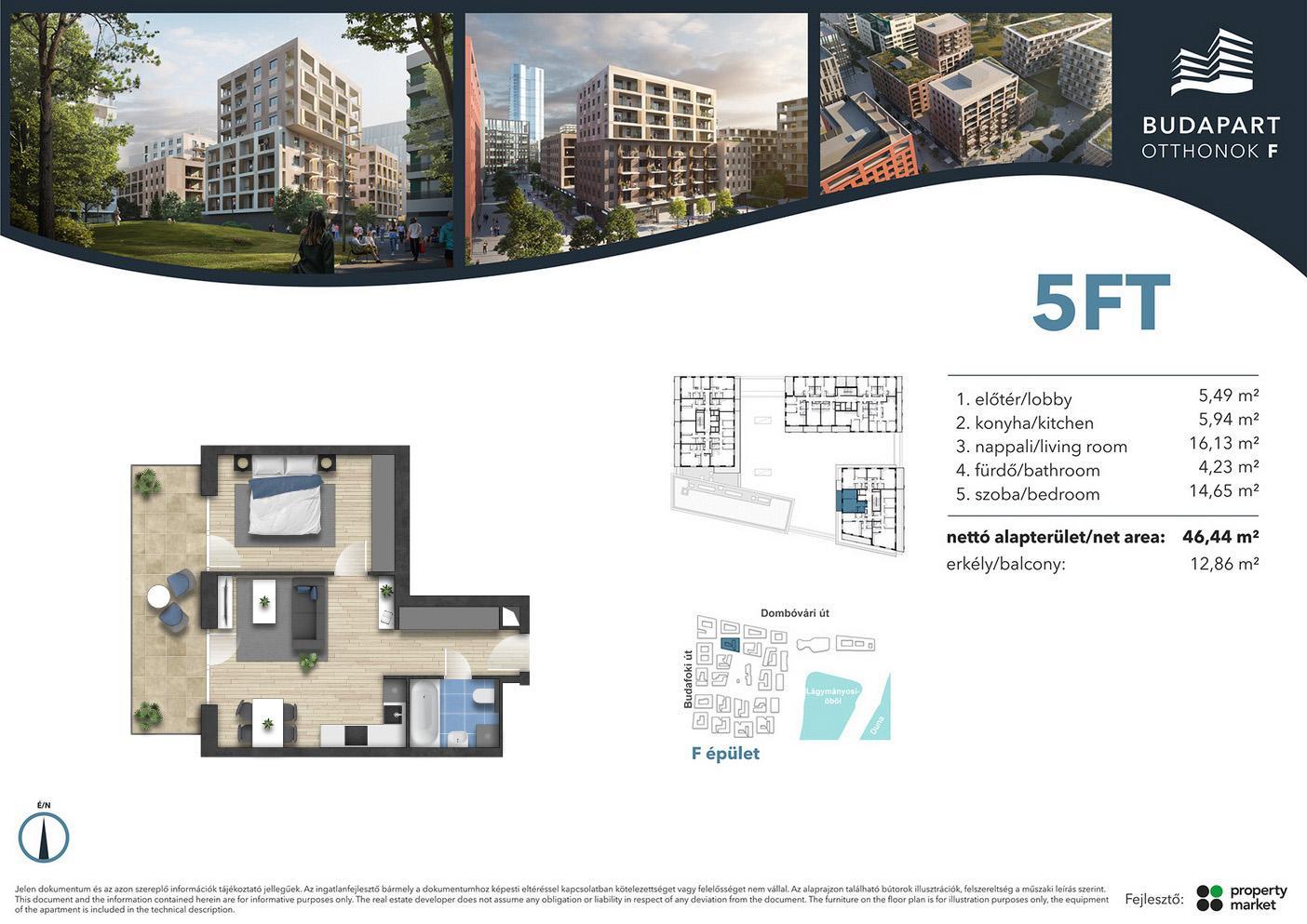 Lakás száma: BRF_C.05.03