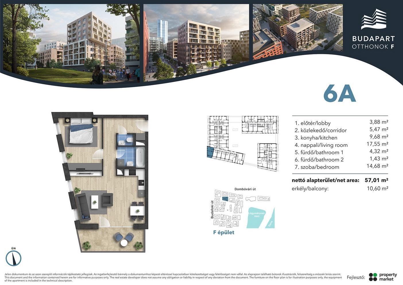 Lakás száma: BRF_A.01.07