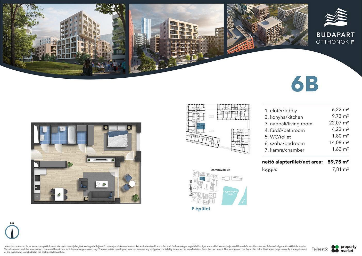Lakás száma: BRF_A.02.16