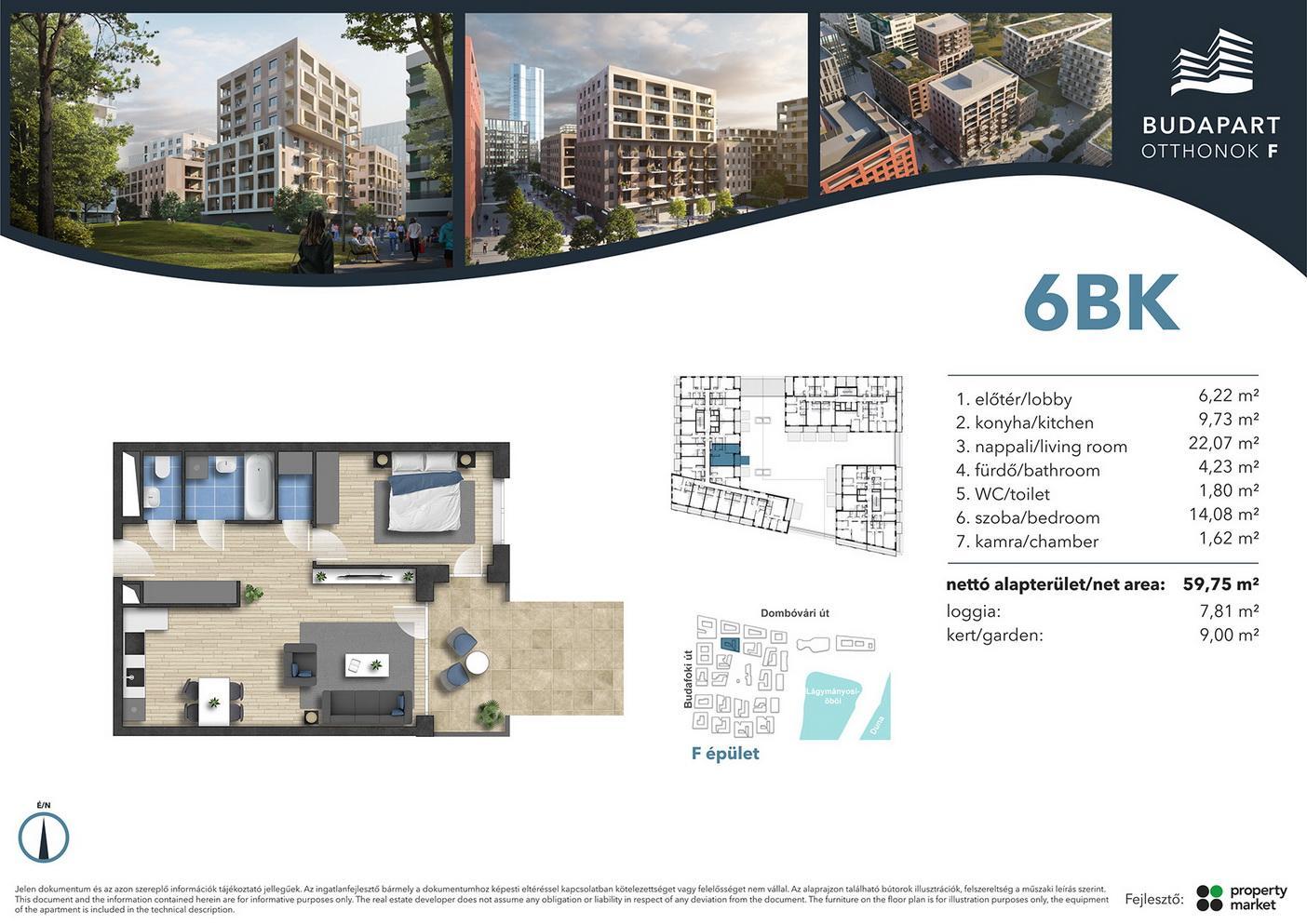 Lakás száma: BRF_A.01.16