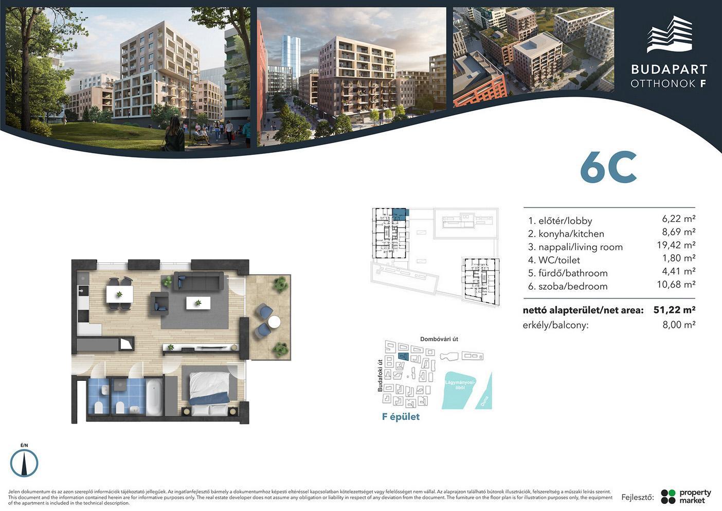 Lakás száma: BRF_A.06.06