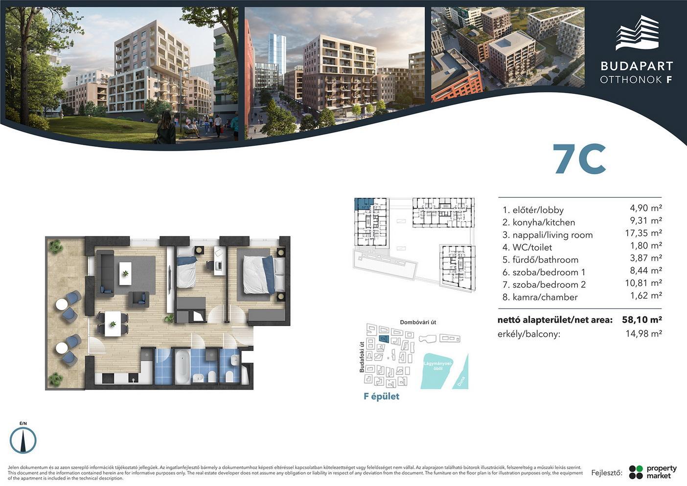 Lakás száma: BRF_A.07.05