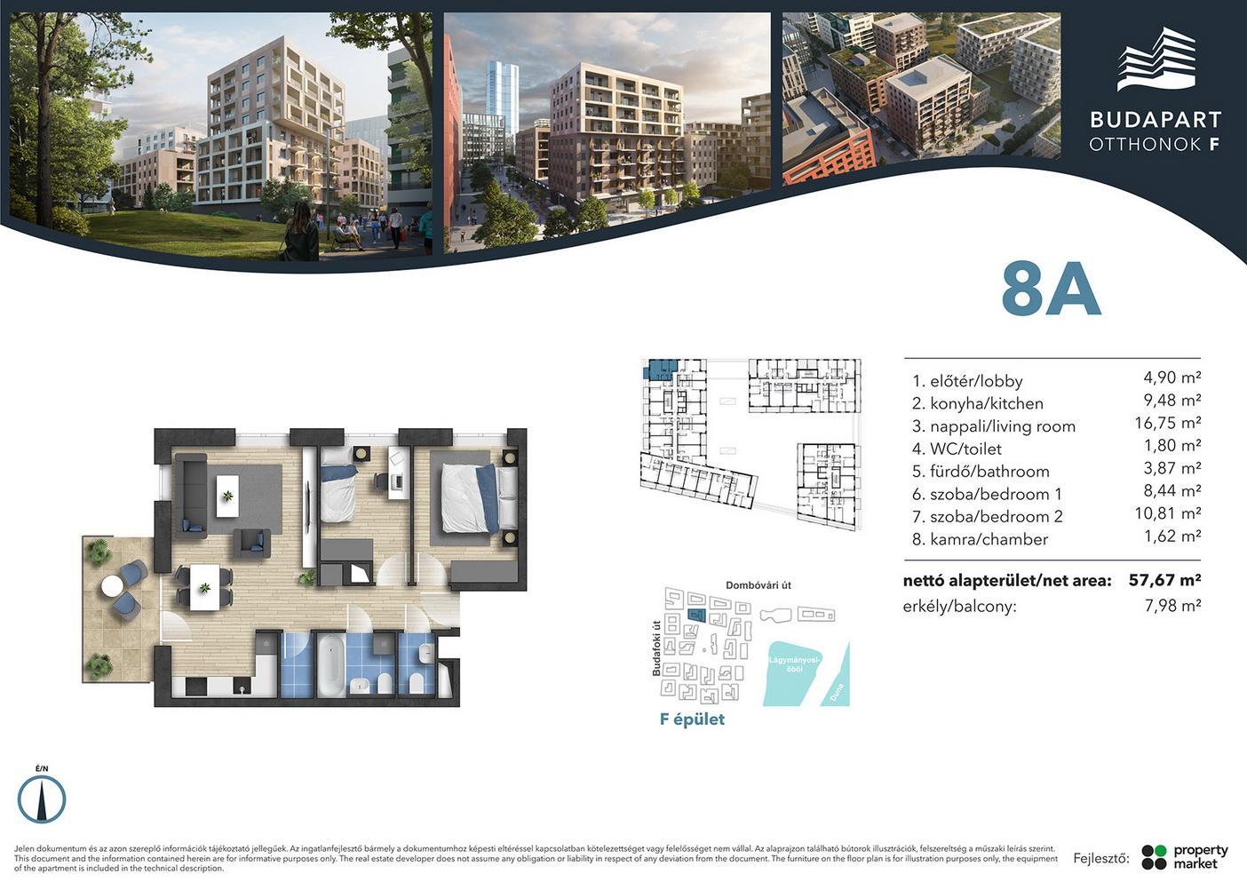 Lakás száma: BRF_A.01.12