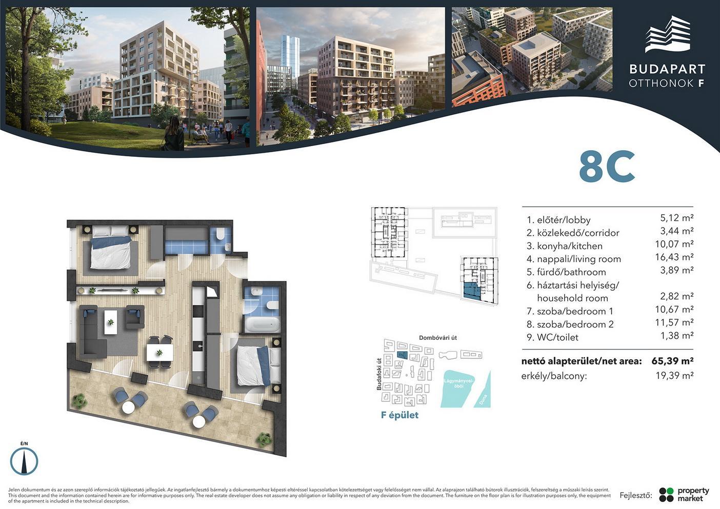 Lakás száma: BRF_C.07.02