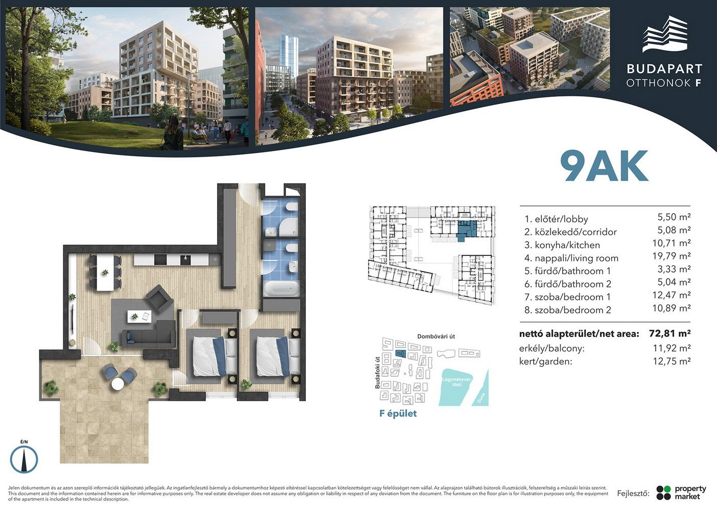 Lakás száma: BRF_B.01.02