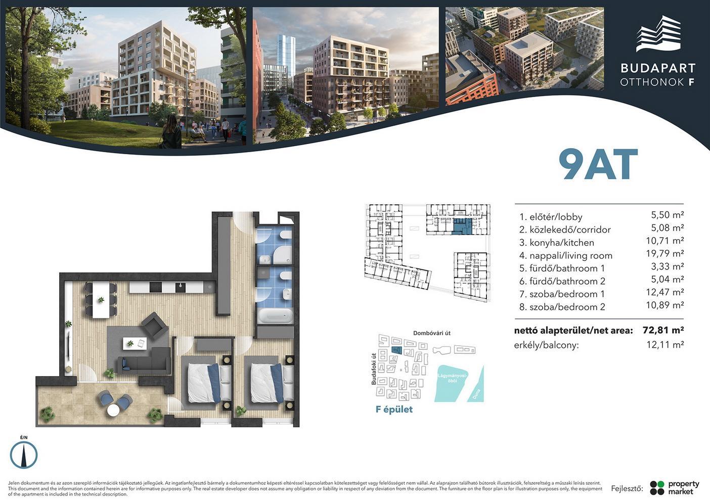 Lakás száma: BRF_B.02.02
